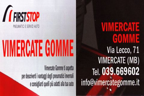 VIMERCATE GOMME FIRST STOP